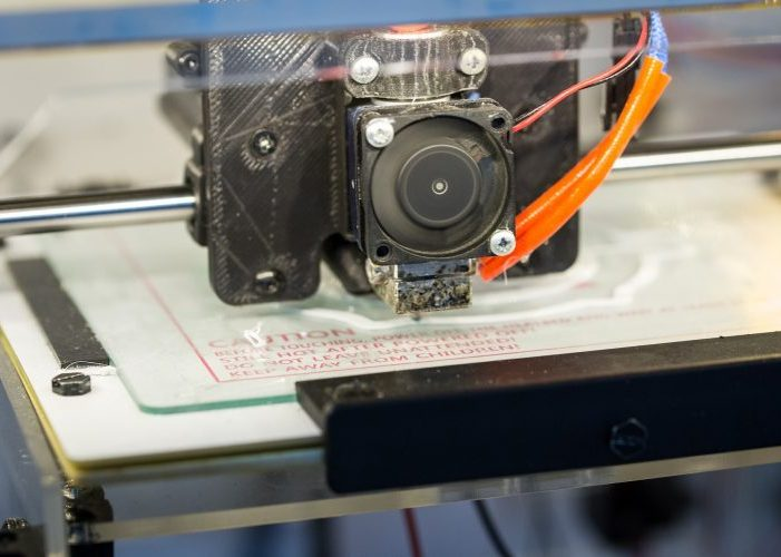 come funziona una stampante 3D?
