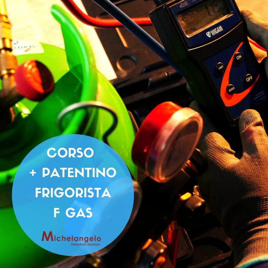Operatore E Patentino F Gas Michelangelo Formazione